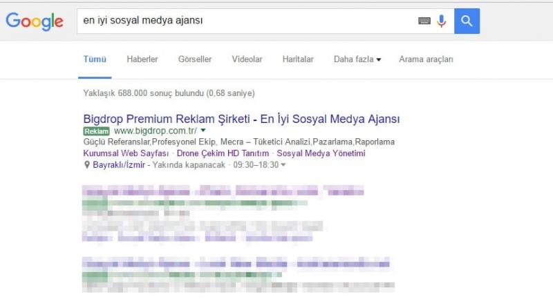 google-adwords-birinci-sira-bigdrop-reklam-sirketi